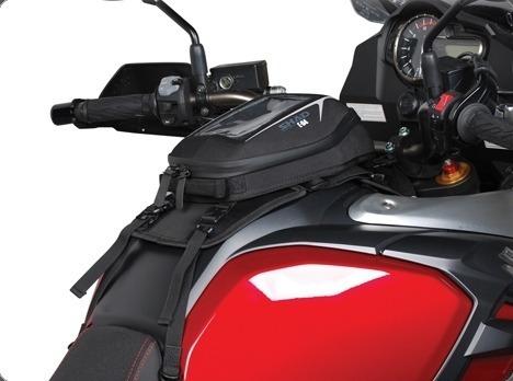 tank bag shad e04 c/adaptador universal 3 lts rider one