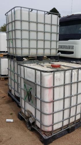 tanque 1000 litros ibc para pozo negro/ camara septica