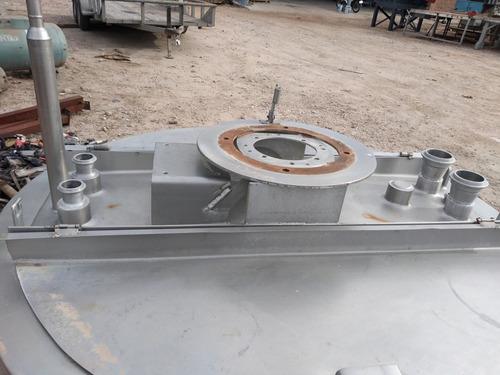 tanque agitador de acero inoxidable 1,000 lts