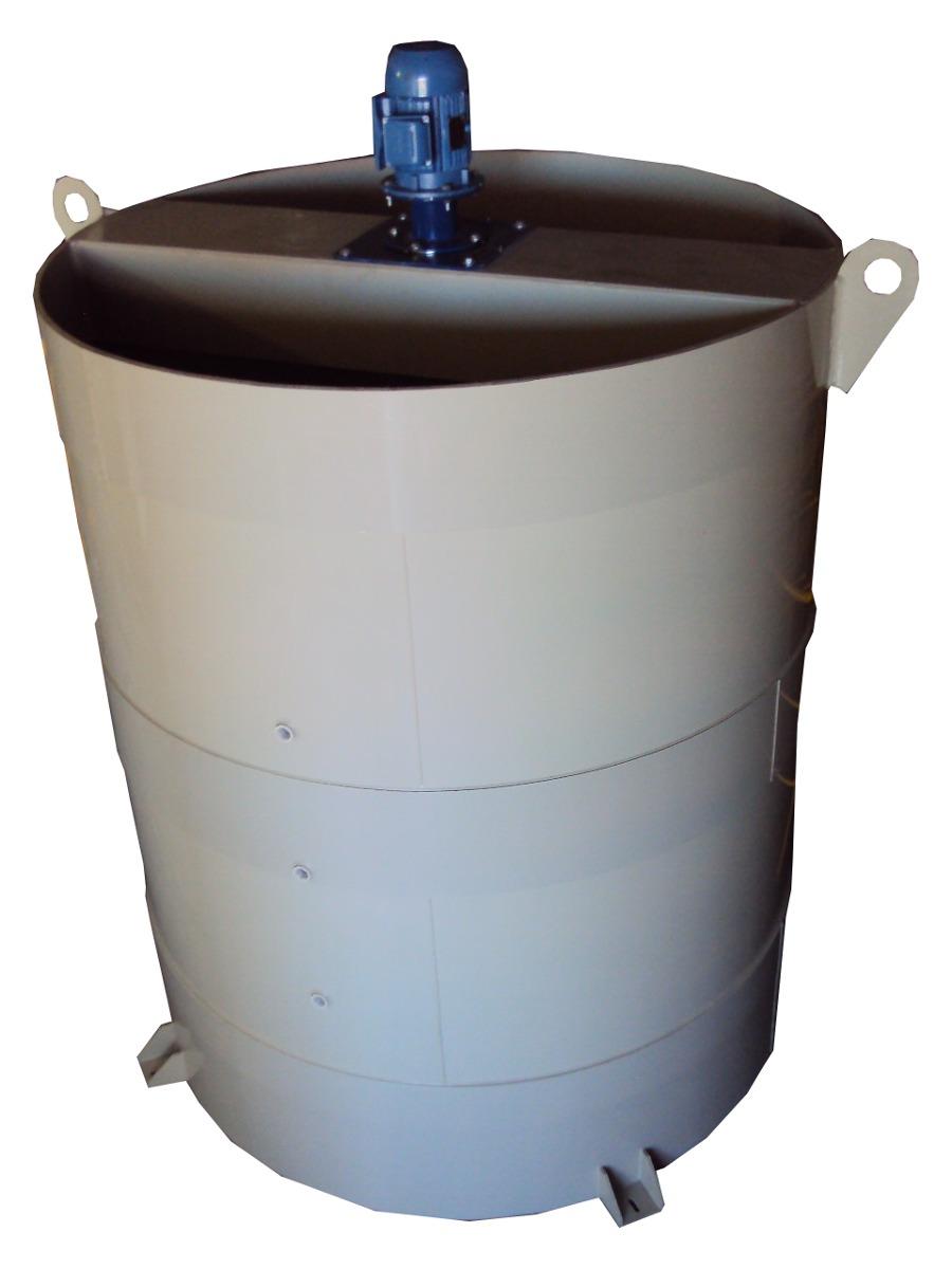 Tanque agitador misturador em polipropileno 1000 litros Tanque de agua 1000 litros