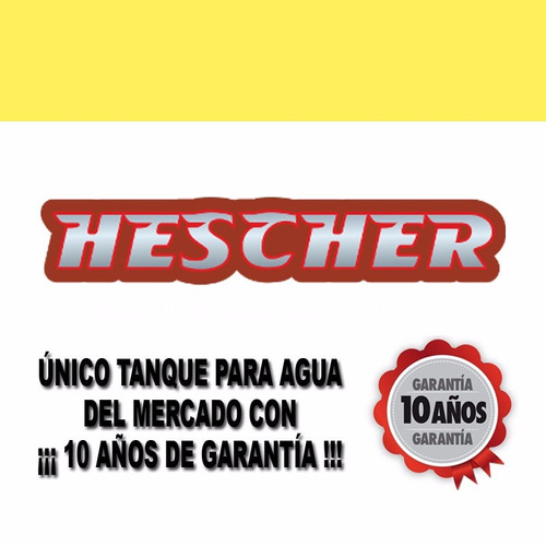 tanque agua hescher bicapa alto 700 lts verde 10 años gtía