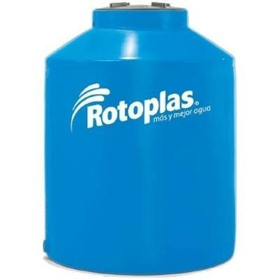 tanque agua rotoplas 600 azul tricapa