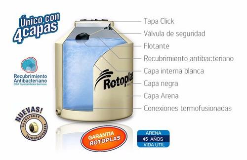 tanque agua rotoplas 600 + base, consulte envío
