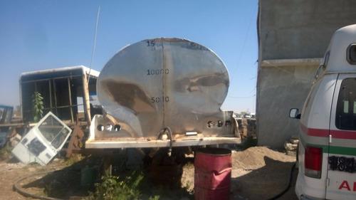 tanque aluminio grado alimenticio 15,000 lts