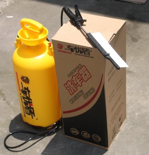tanque bomba de agua para lavado de autos 12 litros cepillo