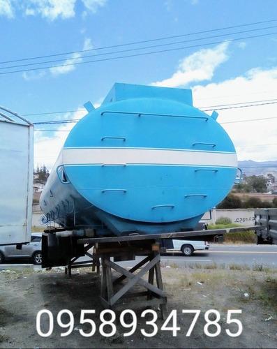 tanque camión mula tanquero mercedes hino