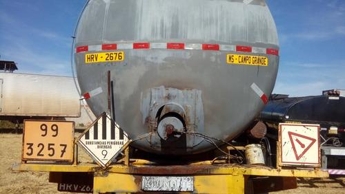 tanque carreta inox oleo preto