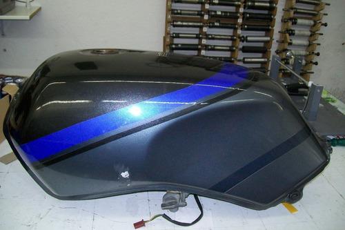 tanque cbx 650 , sete galo azul neon