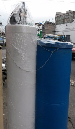 tanque cilindrico apartamento blanco 320 litros