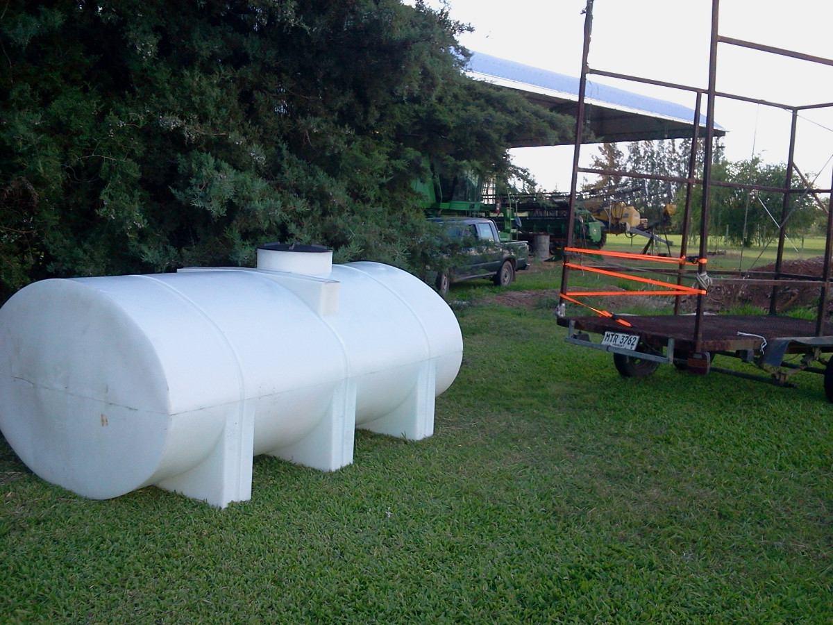 Tanque cisterna 3500 l c rompe olas agua fertilizante for Tanque cisterna