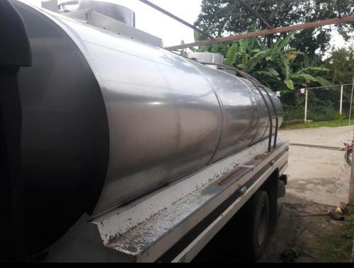 tanque cisterna acero inoxidable para npr 6500 litros