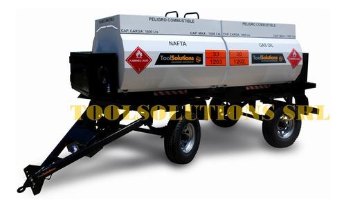 tanque cisterna combustible, acoplado tanque cisterna,