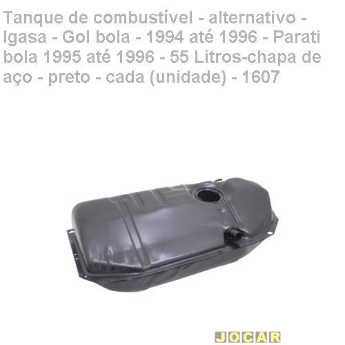 f447de91a7 Tanque Combustível-alt.- Igasa-gol Bola-1994 1996-preto-1607 - R ...