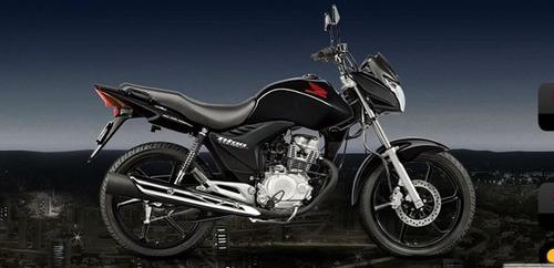 tanque combustível cg mix titan 150 preto 2012 a 2013 oferta