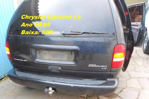 tanque combustível g. caravan 98/99