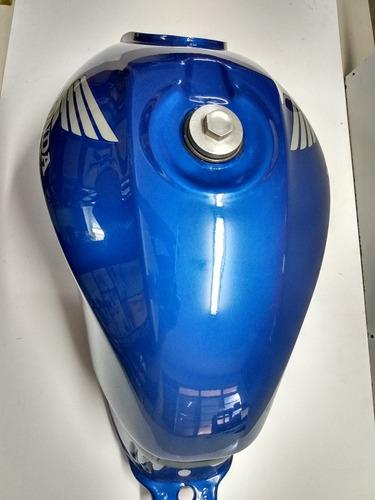 tanque combustivel titan 150 azul 2007 original honda novo
