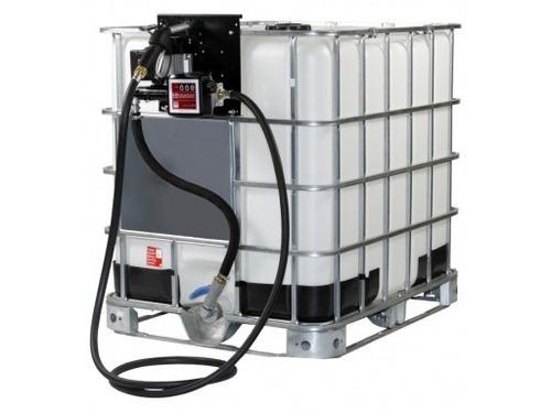 tanque containner reservatorio 1000 litros com bomba diesel