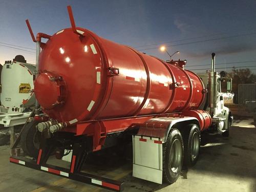 tanque de 10,000 lts , presión y vacío modelo 2014