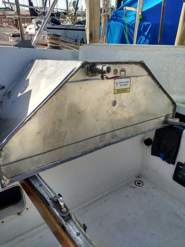 tanque de acero inoxidable náutico 100 litros