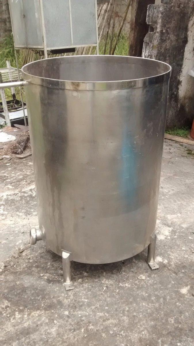 Tanque de a o inox 500 litros r 100 00 em mercado livre for Tanque hidroneumatico 100 litros