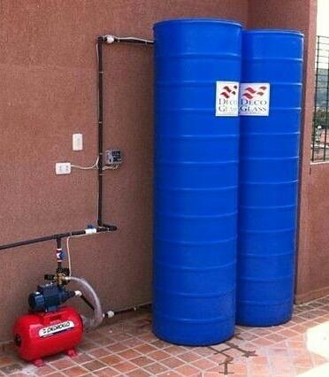 tanque de agua 520 lt con motor y tuberias