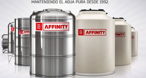 tanque de agua acero inoxidable affinity home 1000 litros
