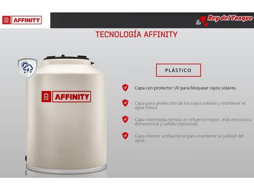 tanque de agua affinity slim xlong tricapa 500 l + flotante