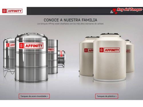 tanque de agua affinity slim xlong tricapa 750 + flotante