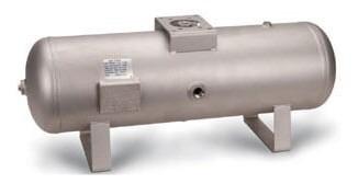 tanque de aire (comprimido) 38 lt acero al carbón mca smc
