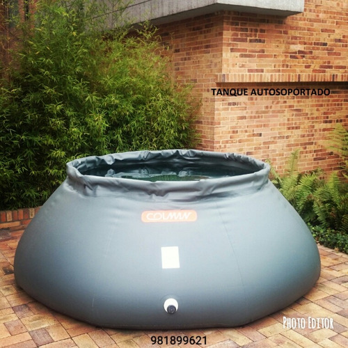 tanque de almacenamiento para agua y combustible