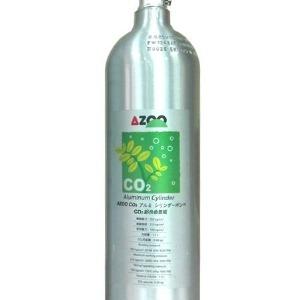 tanque de aluminio para co2 azoo 1 litro jlp
