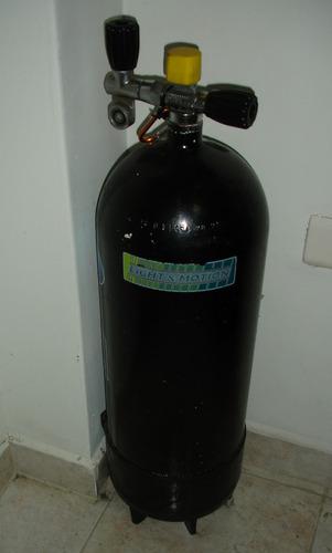 tanque de buceo de acero