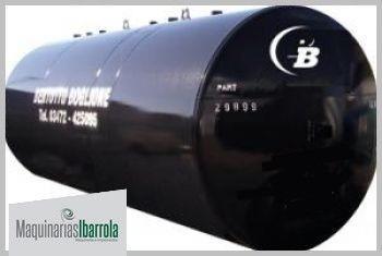 tanque de chapa horizontal bertotto boglione de 20000 lts