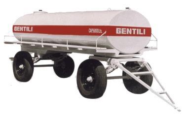 tanque de combustible 3000 litros gentili 2 ejes