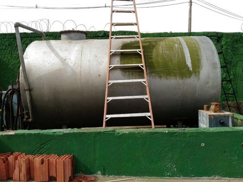 tanque de combustível 5000lts - aço carbono