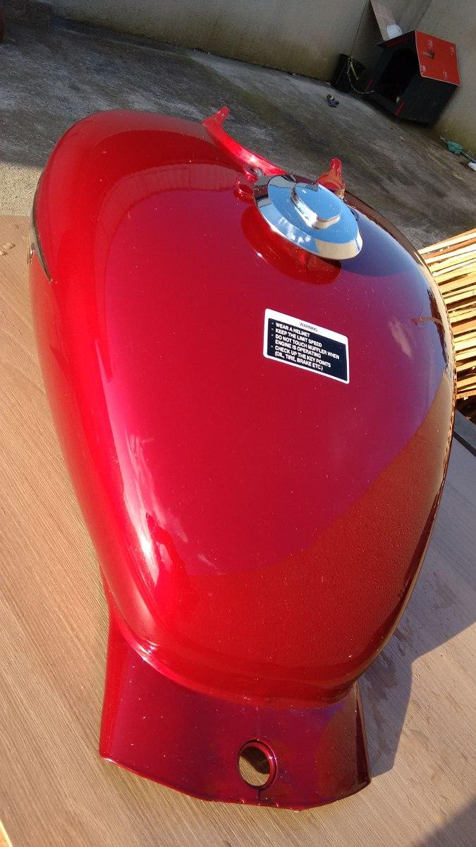 Tanque De Combustivel Motos Custom  Marca Daelim Magma