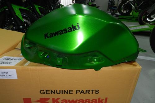 tanque de combustível original kawasaki z 300 verde