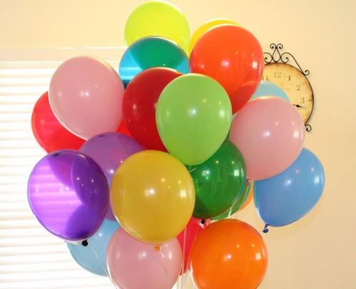 tanque de helio+50 globos y cinta hecho en usa costa de oro