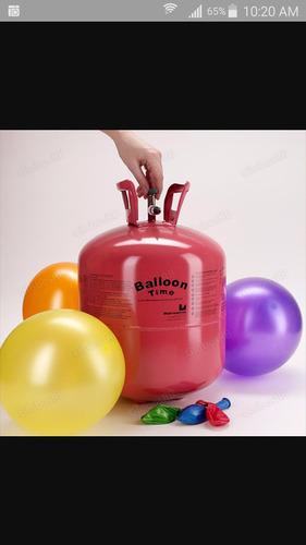 tanque de helio desechable en venta.