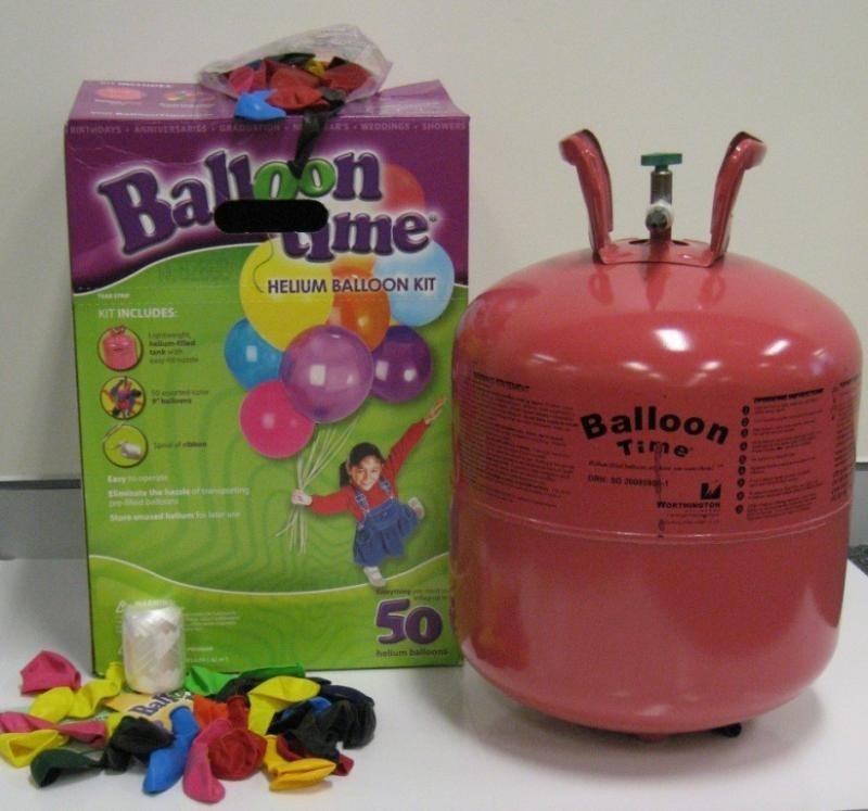 Tanque de helio para inflar globos 50 globos - Helio para inflar globos barato ...