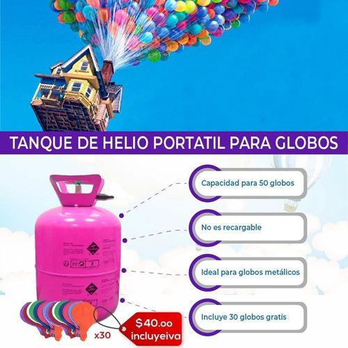 tanque de helio portatil