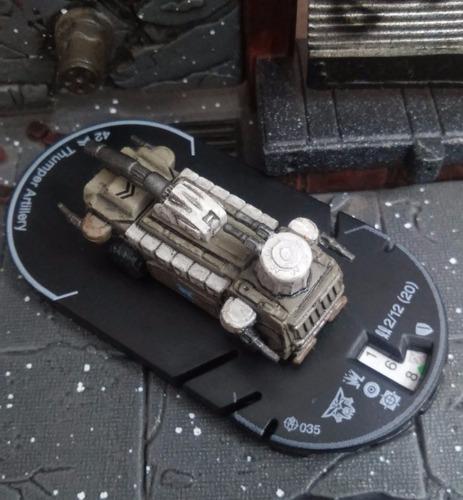 tanque de mechwarrior battletech - thumper artillery