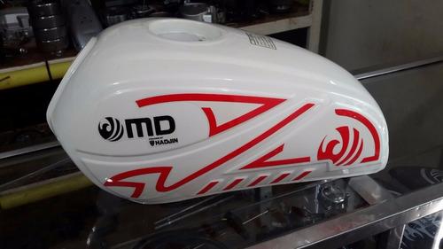 tanque de moto md haojin aguila nuevo 2016 blanco,rojo,negro