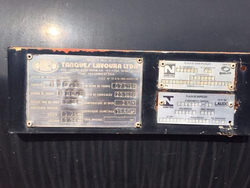 tanque de óleo preto - lavoura 15.000lts - 1996