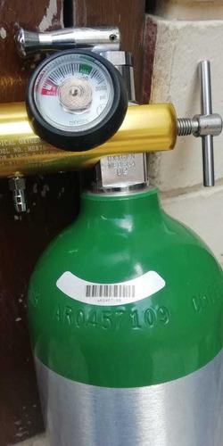 tanque de oxígeno medicinal portátil