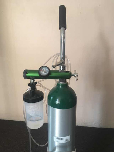 tanque de oxígeno portátil