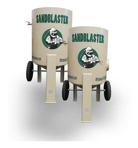 tanque de sand blast de 272 kg  c/garantia de 1 año