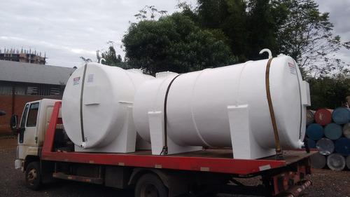 tanque estacionário aereo óleo diesel 8000 litros fibra
