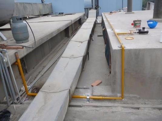 Tanque estacionario de 300 lts instalado para gas l p Tanque de gas estacionario