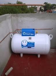 Tanque estacionario para gas l p tatsa instalado 5 200 for Instalacion de gas lp